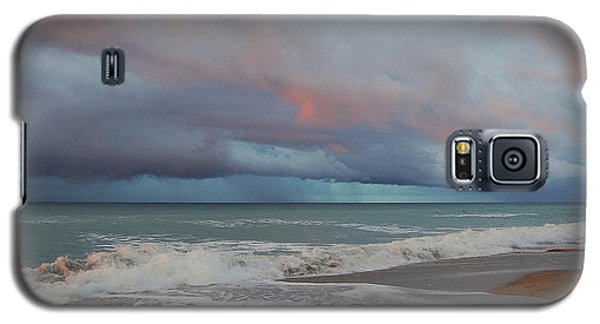 Galaxy S5 Case featuring the painting Storms Comin' by Mim White