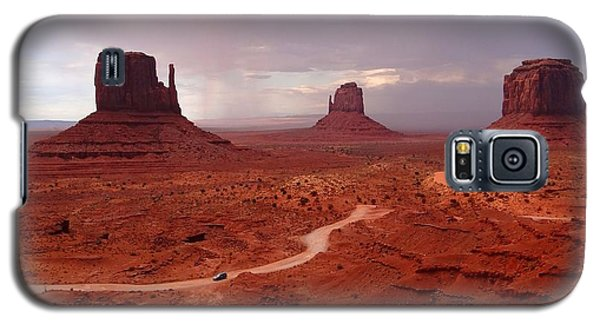 Storms Moving Through Monument Valley Galaxy S5 Case
