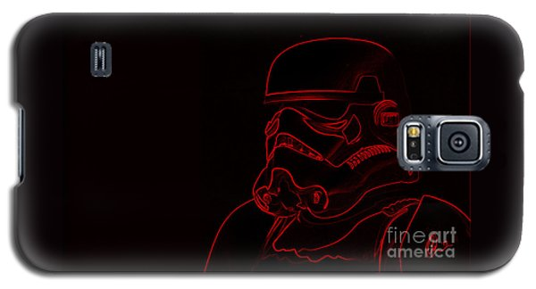 Stormtrooper In Red Galaxy S5 Case
