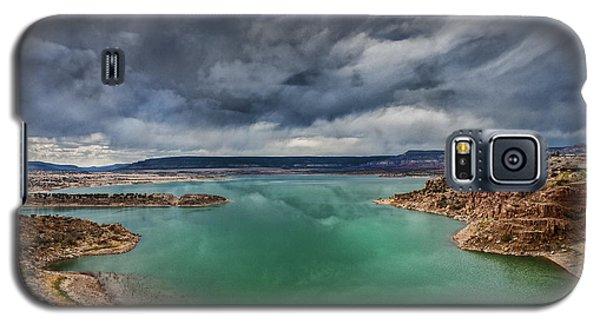 Stormy Abiquiu Lake Galaxy S5 Case