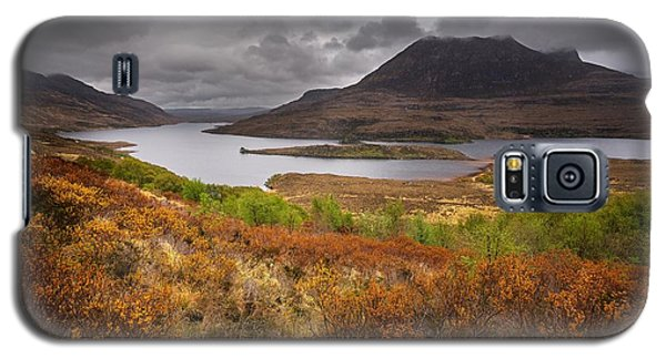 Galaxy S5 Case featuring the photograph Stormy Afternoon In Scotland by Maciej Markiewicz