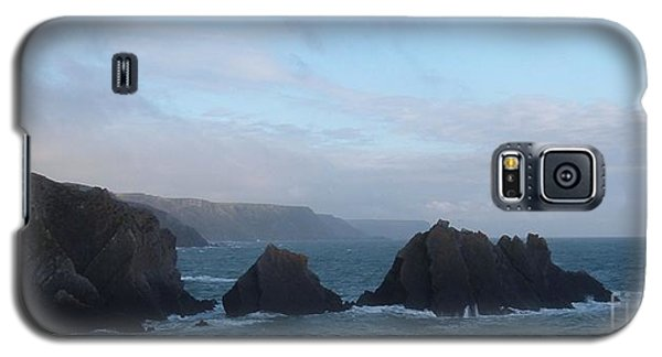 Hartland Quay Storm Galaxy S5 Case by Richard Brookes