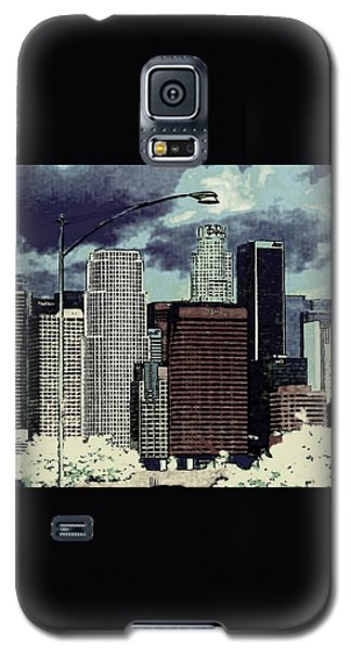 stormy Los Angeles from the freeway Galaxy S5 Case by Jodie Marie Anne Richardson Traugott          aka jm-ART