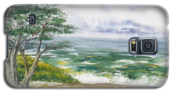 Stormy Morning At Carmel By The Sea California Galaxy S5 Case