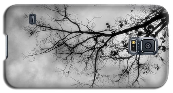 Stormy Morning In Black And White Galaxy S5 Case