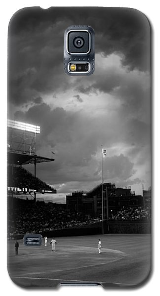 Stormy Night At Wrigley Field Galaxy S5 Case