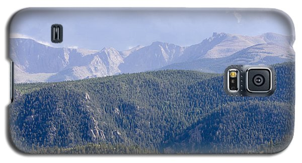 Stormy Pikes Peak Galaxy S5 Case