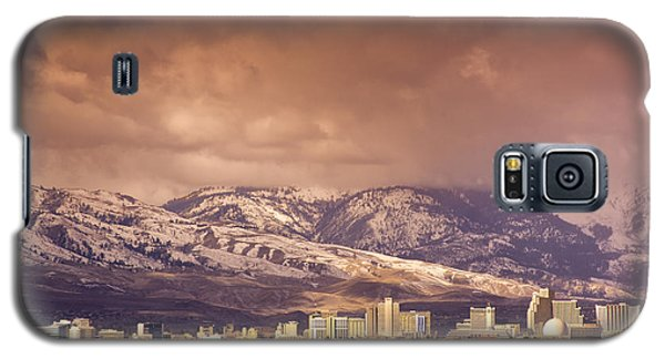 Stormy Reno Sunrise Galaxy S5 Case by Janis Knight