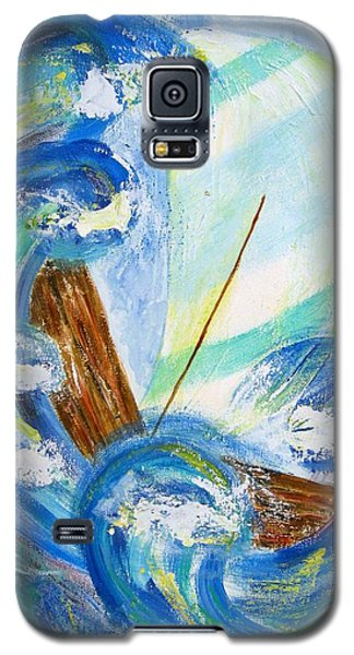 Stormy Sails Galaxy S5 Case by Diane Pape