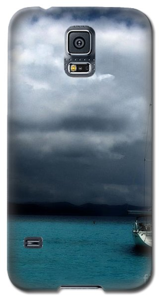 Galaxy S5 Case featuring the photograph Stormy Sails by Heather Green