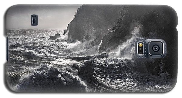 Stormy Seas At Gulliver's Hole Galaxy S5 Case by Marty Saccone