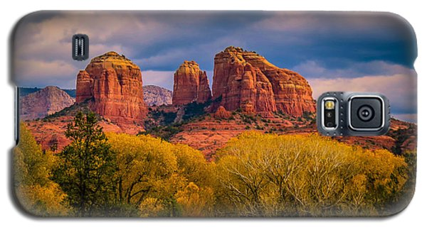 Stormy Skies Over Cathedral Rock Galaxy S5 Case
