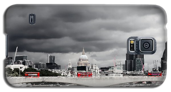 Stormy Skies Over London Galaxy S5 Case