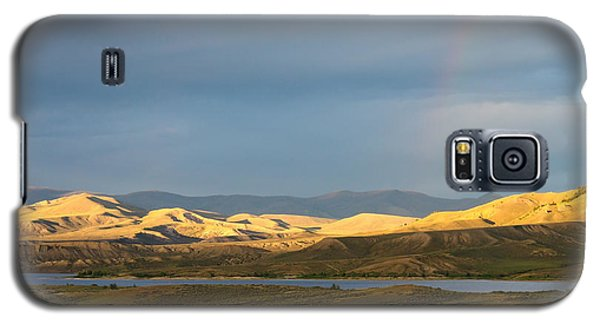 Stormy Sky With Rays Of Sunshine Galaxy S5 Case