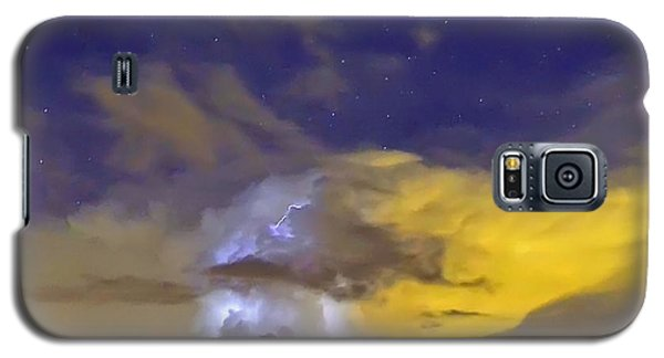 Galaxy S5 Case featuring the photograph Stormy Stormy Night by Charlotte Schafer