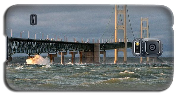 Stormy Straits Of Mackinac Galaxy S5 Case