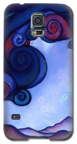 Galaxy S5 Case featuring the pastel Stormy by Susan Will