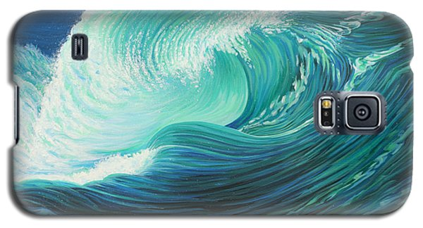 Stormy Wave Galaxy S5 Case