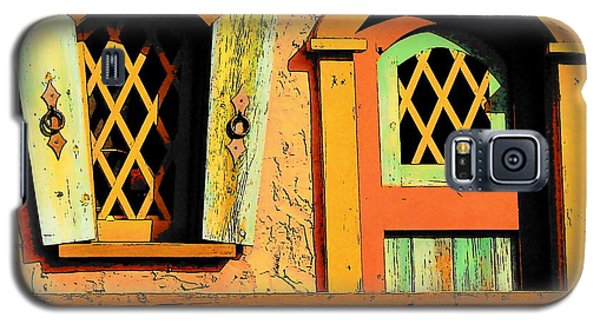 Storybook Window And Door Galaxy S5 Case by Rodney Lee Williams