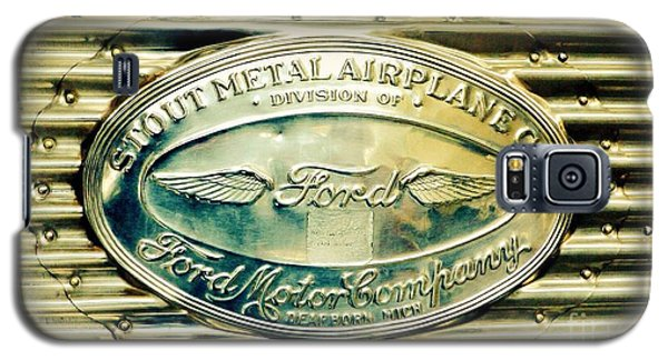 Stout Metal Airplane Co. Emblem Galaxy S5 Case