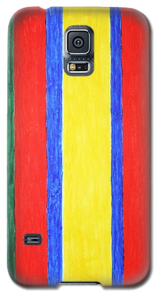 Vertical Lines Galaxy S5 Case by Stormm Bradshaw