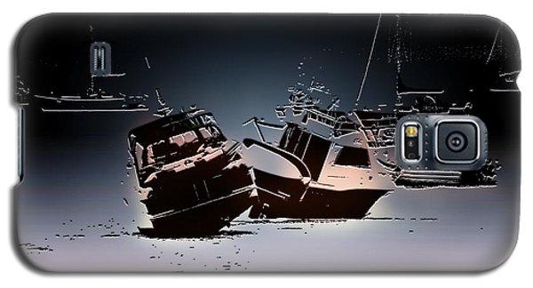 Stranded Galaxy S5 Case by Pennie  McCracken