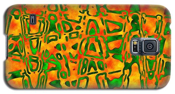 Strange Hieroglyphs Galaxy S5 Case by Mark Blauhoefer