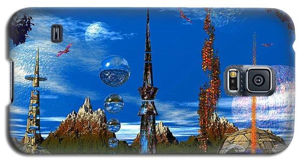Strange Planet Galaxy S5 Case by Mark Blauhoefer
