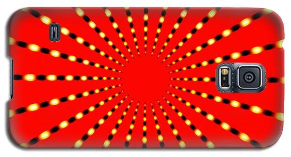 Strange Sun Rays Galaxy S5 Case