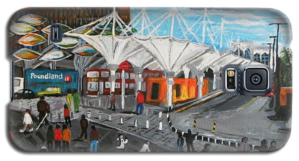 Galaxy S5 Case featuring the painting Stratford Bus Station Study 02 by Mudiama Kammoh
