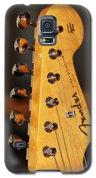 Galaxy S5 Case featuring the photograph Stratocaster Headstock by Chris Thomas