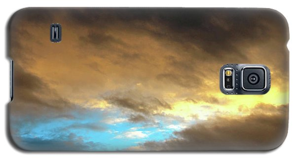 Stratus Clouds At Sunset Bring Serenity Galaxy S5 Case