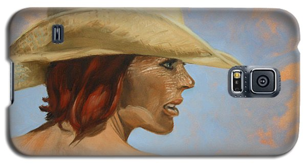 Straw Hat Galaxy S5 Case