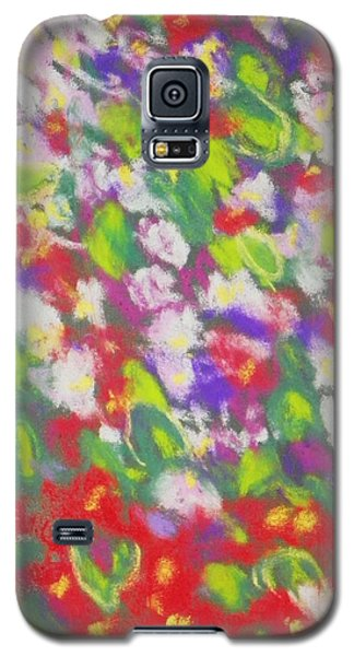Strawberry Begonias II Galaxy S5 Case by Shirley Moravec
