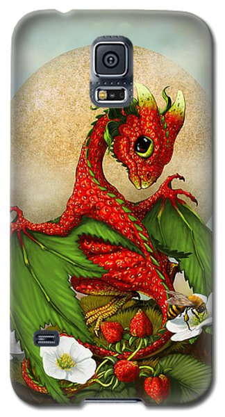 Strawberry Dragon Galaxy S5 Case