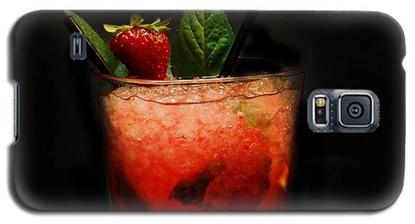 Strawberry Mojito Galaxy S5 Case by Gina Dsgn