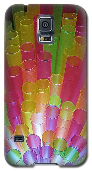 Galaxy S5 Case featuring the photograph Straws II by John King