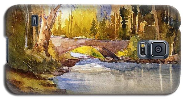 Stream And Bridge Galaxy S5 Case