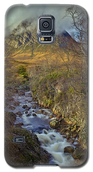 Stream Below Buachaille Etive Mor Galaxy S5 Case by Gary Eason