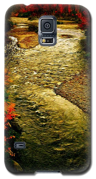 Galaxy S5 Case featuring the photograph Stream by Bill Howard