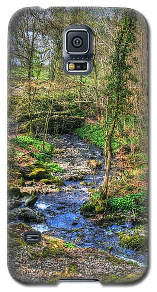 Galaxy S5 Case featuring the photograph Stream In Wales by Doc Braham