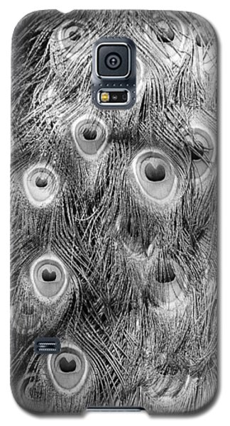 Stream Of Eyes - Black And White Galaxy S5 Case by Diane Alexander