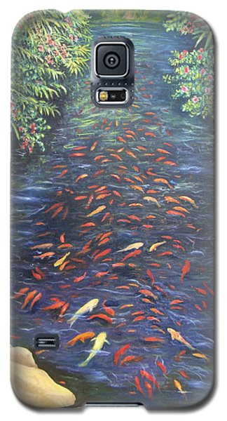 Stream Of Koi Galaxy S5 Case