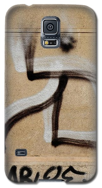 Galaxy S5 Case featuring the photograph Street Art 'dablos' Graffiti In Bucharest Romania  by Imran Ahmed