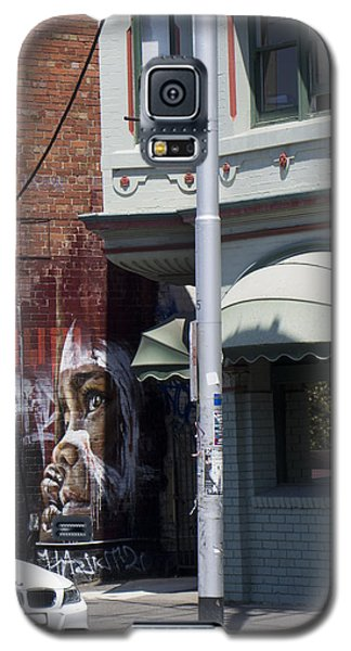 Galaxy S5 Case featuring the photograph Street Art Melbourne by Serene Maisey