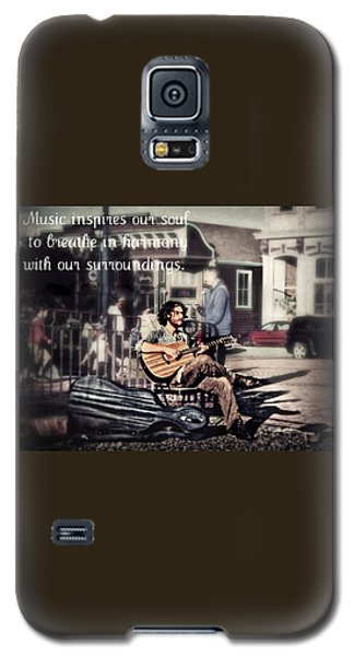 Street Beats Inspiration Galaxy S5 Case by Melanie Lankford Photography