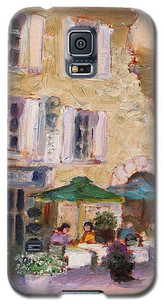 Street Cafe Galaxy S5 Case by J Reifsnyder