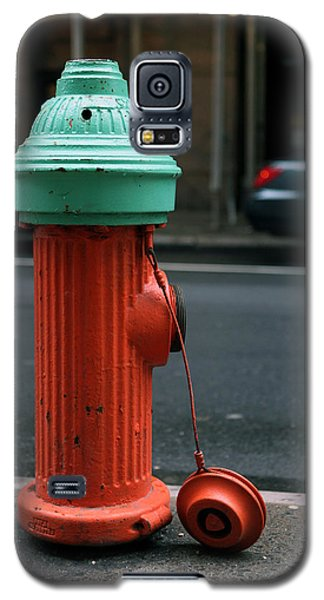 Galaxy S5 Case featuring the photograph Street Hydrant by Dorin Adrian Berbier