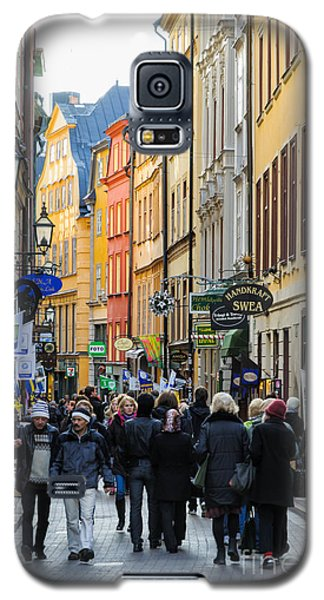 Street In Gamla Stan - The Old Part Of Stockholm - Sweden Galaxy S5 Case