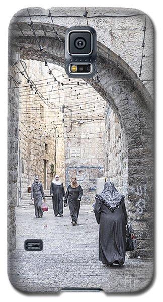 Street In Jerusalem Old Town Israel Galaxy S5 Case
